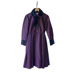 Geoffrey Beene 1960s Checkered A-Line Dress